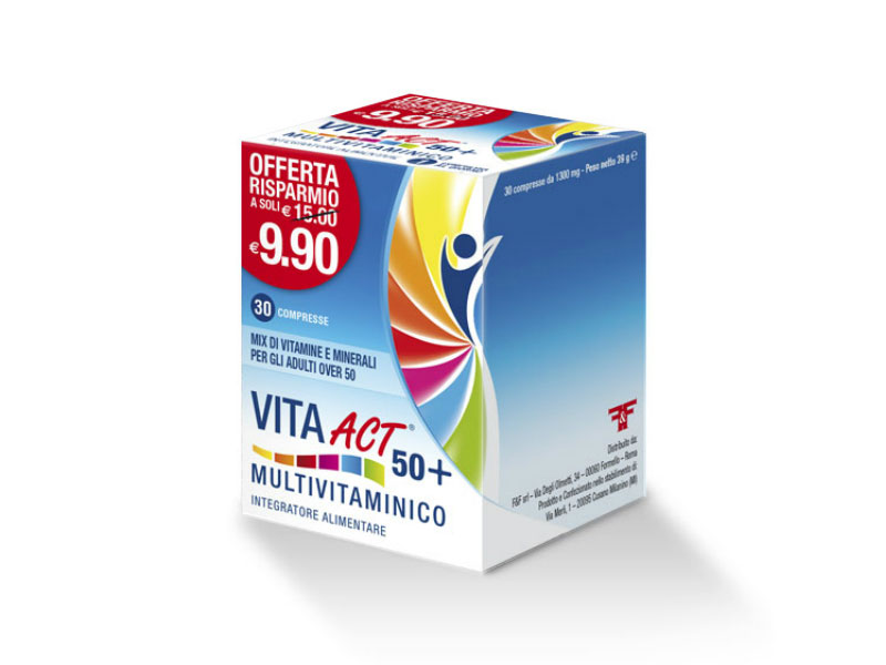 VITA ACT 50+ MULTIVITAMINICO